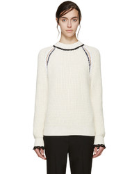 3.1 Phillip Lim Ivory Raglan Knit Sweater