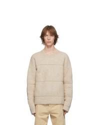 Jacquemus Beige La Maille Albi Sweater