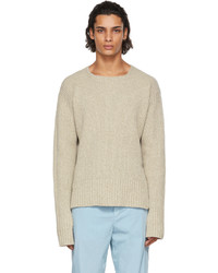 Jacquemus Beige La Maille Baja Sweater