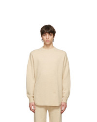 Extreme Cashmere Beige N53 Crew Hop Sweater