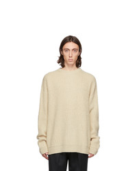 Hope Beige Wool North Sweater