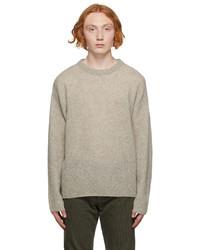 John Elliott Beige Wool Powder Sweater