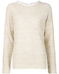 Brunello Cucinelli Crew Neck Sweater