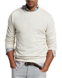 Cashmere crewneck sweater medium 949519