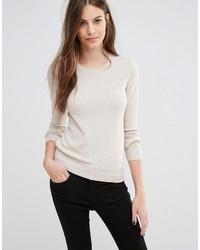 Sisley Cashmere Mix Crew Neck Sweater