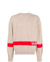 Oamc Colour Block Logo Sweater