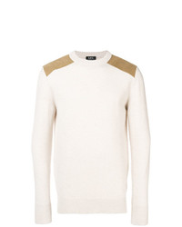 A.P.C. Contrast Patch Sweater