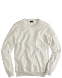 Cotton cashmere crewneck sweater medium 333766