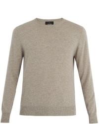 Allude Crew Neck Cashmere Sweater