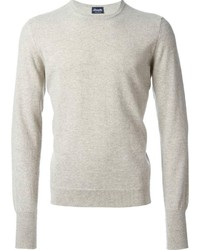 186279299ed1b2 Men's Beige Crew-neck Sweaters by Drumohr | Men's Fashion ...