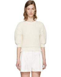 3.1 Phillip Lim Ecru Cotton Sweater