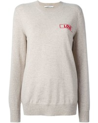Givenchy Love Embroidered Sweater