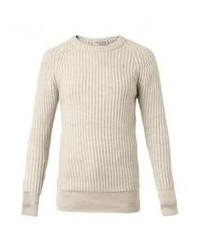 IRO Malyn Ribbed Knit Wool Sweater