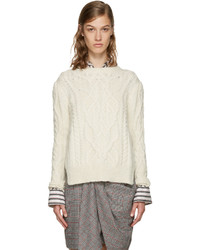 Isabel Marant Ecru Gayle Sweater