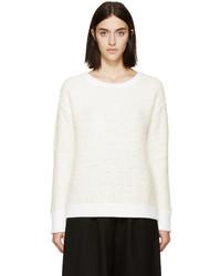 Rag & Bone Ivory Shearling Corrine Sweater