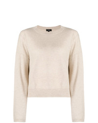 Theory Knitted Slouchy Jumper