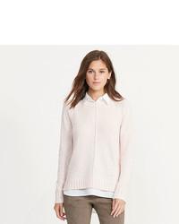 Ralph Lauren Layered Cotton Blend Sweater
