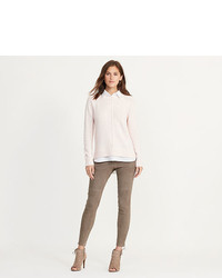 Ralph Lauren Layered Cotton Blend Sweater