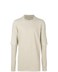 Rick Owens DRKSHDW Layered Sleeve Jumper