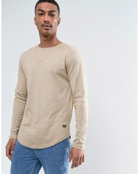 ONLY & SONS Longline Long Sleeve Top