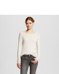 Mossimo Luxe Crew Neck Sweater