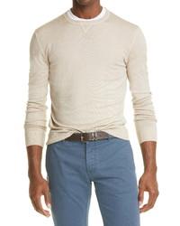 Eleventy Merino Crewneck Sweater