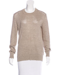 Michael Kors Michl Kors Linen Rib Knit Sweater