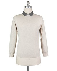 Luigi Borrelli New Beige Sweater Small48