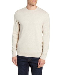 Nordstrom Men's Shop Nordstrom Cotton Cashmere Crewneck Sweater
