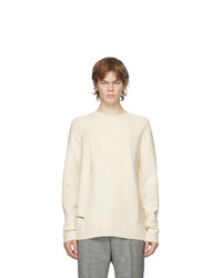 Alexander McQueen Off White Punk Crewneck Sweater