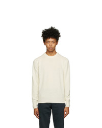 Doppiaa Off White Wool Appio Sweater