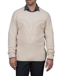 Robert Graham Slim Fit Fortitude Cashmere Sweater