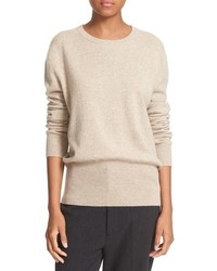 Split back cashmere sweater medium 801856