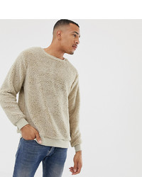 Soul Star Tall Teddy Crew Neck Jumper