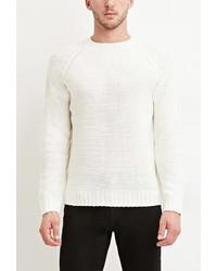 Forever 21 Textured Raglan Sweater
