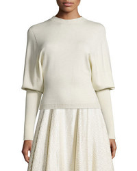 The Row Deanna Dolman Sleeve Sweater Natural