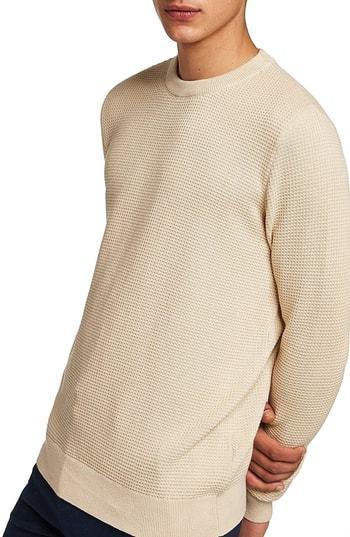Topman Thermal Knit Sweater