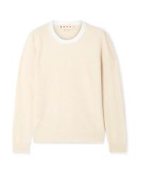 Marni Two Tone Cashmere Sweater