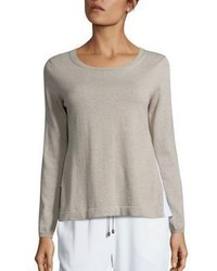 Peserico Tiered Cotton Sweater