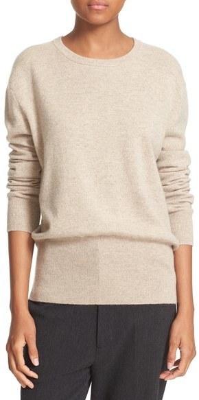 Vince Split Back Cashmere Sweater