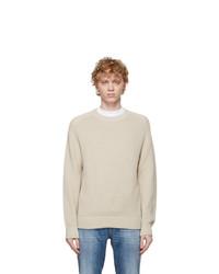 Z Zegna White Hydrorepellent Sweater