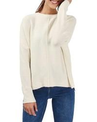 Zip side sweater medium 785589