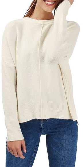 Topshop Zip Side Sweater