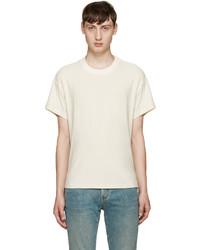 Fanmail Beige Boxy T Shirt