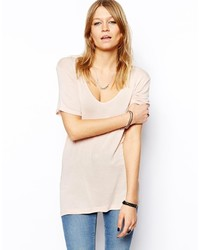 Asos Collection The New Forever T Shirt In Soft Touch