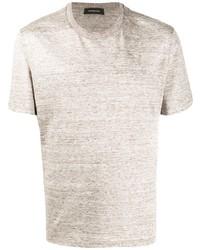 Ermenegildo Zegna Linen T Shirt