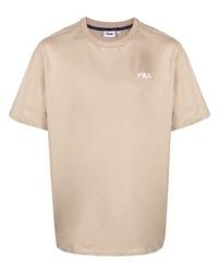 Fila Logo Embroidered T Shirt