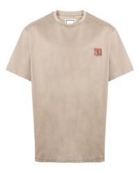 Wooyoungmi Logo Patch Crew Neck T Shirt