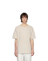 Lemaire Off White Crepe T Shirt