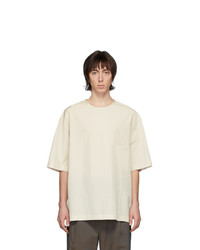 Lemaire Off White Half Sleeve T Shirt